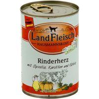LandFleisch Hausmannskost Rinderherz mit Spirellis, Karotten und Kürbis 400 g