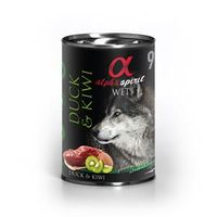 alpha spirit Dog Dose Duck with Kiwi 400g
