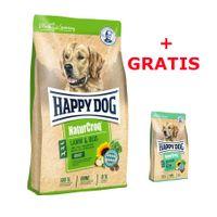 Happy Dog NaturCroq Lamm & Reis 15kg + 4 kg NaturCroq Balance gratis – Bild 1
