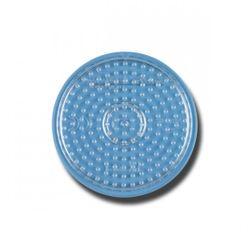 HAMA midi Bügelperlen-Stiftplatte klar Nr.222TR Kreis klein