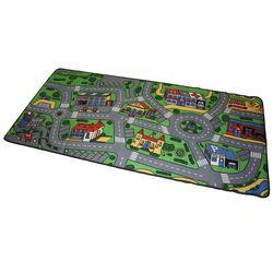 Simon Spielteppich CITY Stadt Kinder Teppich 200x95cm Straßenteppich