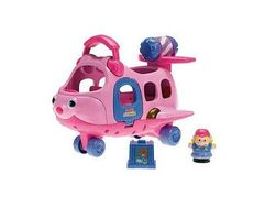 FISHER PRICE Little People Flugzeug ROSA
