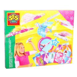 SES Creative 14545 Bastel-Set Kreativ-Packung FANTASY FLIEGENDE GLITZERFIGUREN