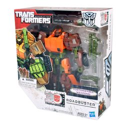 Hasbro TRANSFORMERS A6682 Generations Voyager Roadbuster mit Waffen