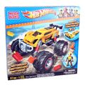 MEGA BLOKS 91712 Hot Wheels Super Blitzen Monster Truck mit Motor Bausteine-Set