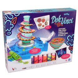 Play-Doh B1718 DohVinci LICHTERSTUDIO Doh Vinci 3D Design Deko Knete Bastelset