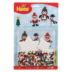 Hama Midi 4202 Bügelperlen Set Weihnachten Pinguin Große Blister