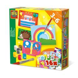 SES Creative 14618 Bastel-Set Kreativ-Packung ICH LERNE MALEN