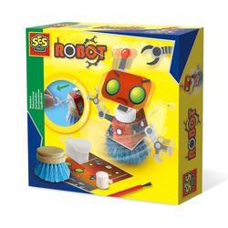 SES Creative 14506 Bastel-Set Kreativ-Packung BORSTEN ROBOTER