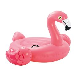 INTEX 57558NP Aufblastier RIDE-ON FLAMINGO Schwimmtier Badetier 140cm