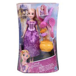 Hasbro E0064 Disney Princess Traumhaar RAPUNZEL Puppe mit Zubehör