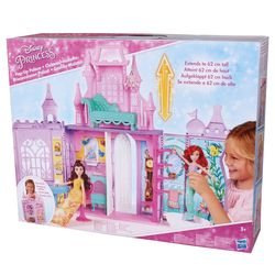 Hasbro E1745 Disney Princess Pop-Up Prinzessinnen Palast Mitnehm-Schloss Set