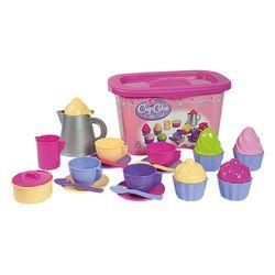 Androni 2132 CupCake Kinderservice Kindergeschirr 32 Teile Puppenservice