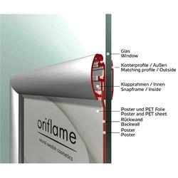 Klapprahmen für Fenster beidseitig DIN A2 25mm Profil – Bild 2