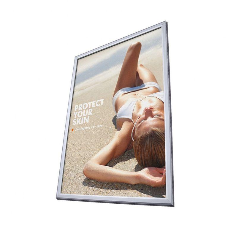 Klapprahmen für Fenster beidseitig DIN A2 32mm Profil