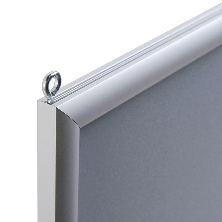 Einschubrahmen DIN A1 f. Deckenabhängung doppelseitig - Bild 2 (vergrößert)