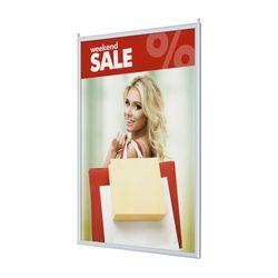 Einschubrahmen DIN A1 f. Deckenabhängung doppelseitig – Bild 1