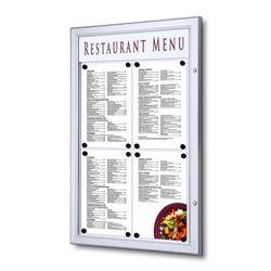 Schaukasten Z-Line 4 x DIN A4 für Speisekarten