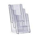 Stand-/Wandprospekthalter DIN lang dreistufig 3C104 (20) 001