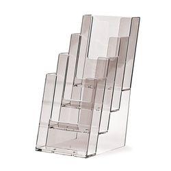 Standprospekthalter DIN lang vierstufig 4C110 (20)