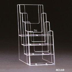 Standprospekthalter DIN lang vierstufig 4C110 (20) – Bild 2