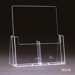 Standprospekthalter DIN lang zweifach 2C112 (36) – Bild 2