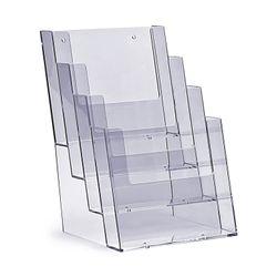 Standprospekthalter DIN A5 vierstufig 4C160 (18) – Bild 1
