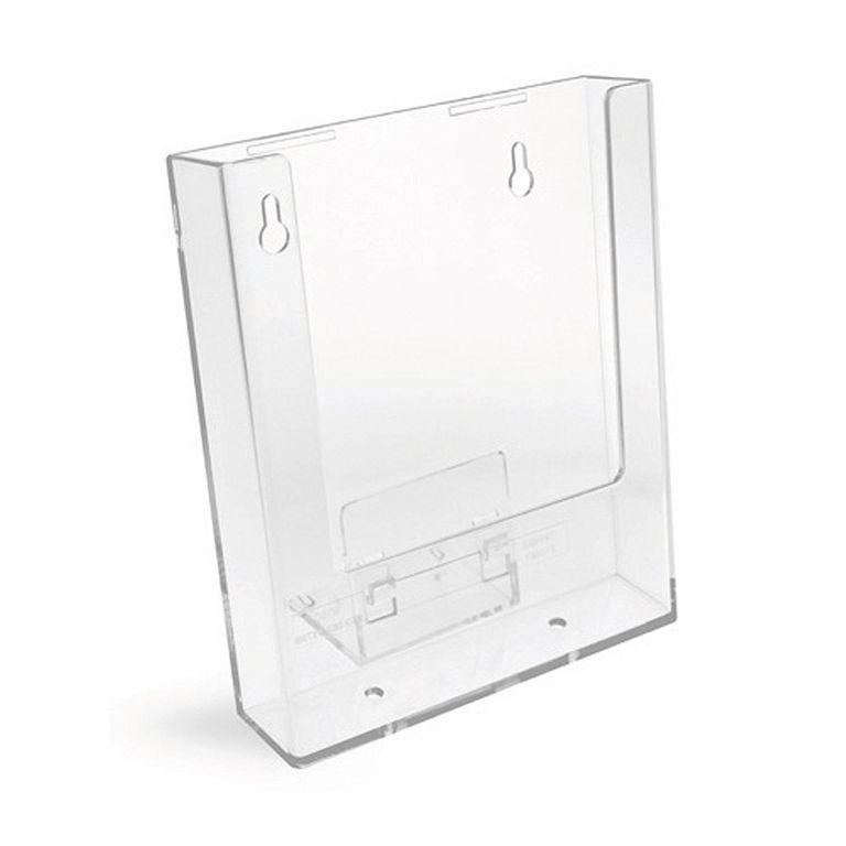 Stand-/Wandprospekthalter DIN A5 einstufig W160 (88)