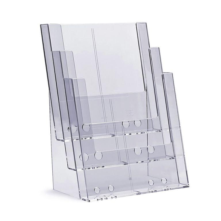 Standprospekthalter DIN A4 dreistufig 3C230 (12)