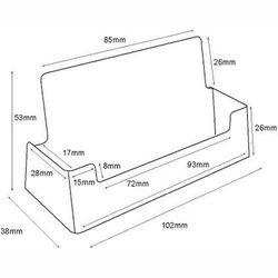 Visitenkartenhalter BC93-250 (Querformat) (250) – Bild 3