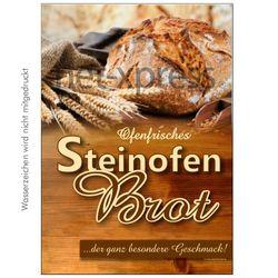 Plakat Steinofenbrot
