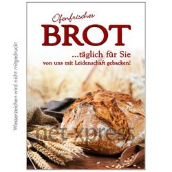 Poster frisches Brot
