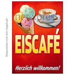 Plakat Eiscafé