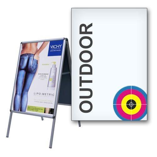 Plakat DIN A2 wetterfest (420 x 594 mm, Latex Symbio Frontlit 510g/m²)