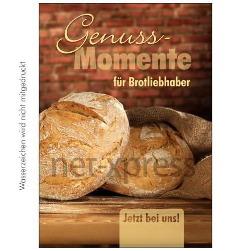 Poster für Bäckerei-Reklame DIN A0 A1 A2 A3