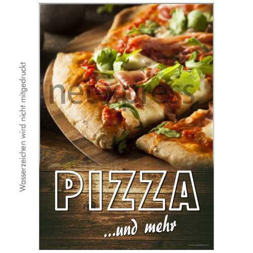 Plakat für Pizza-Werbung DIN A0 A1 A2 A3