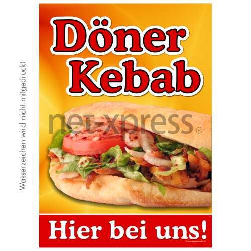 Döner Kebab Poster DIN A0 A1 A2 A3