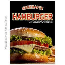 Poster für Hamburger-Reklame