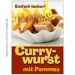 Currywurst-Poster