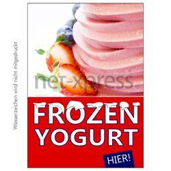 Poster für Frozen Yoghurt