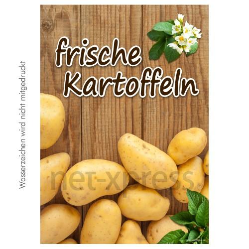 Plakat frische Kartoffeln DIN A0 A1 A2 A3