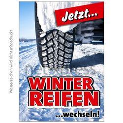 Plakat Winterreifen