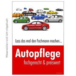 Poster für Autopflege