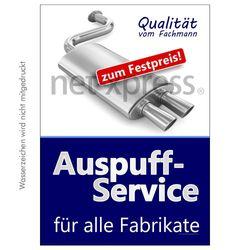 Plakat Auspuffservice