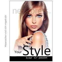 Plakat Your style is our passion