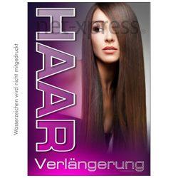Plakat Haarverlängerung