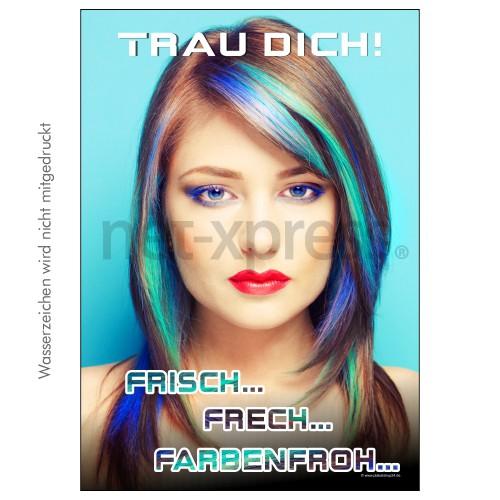 Poster Für Schaufenster Friseur Net Xpressde