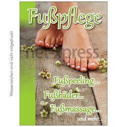 Fußpflege-Poster