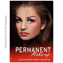 Poster Permanent Make-up