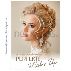 Plakat das perfekte Make-up